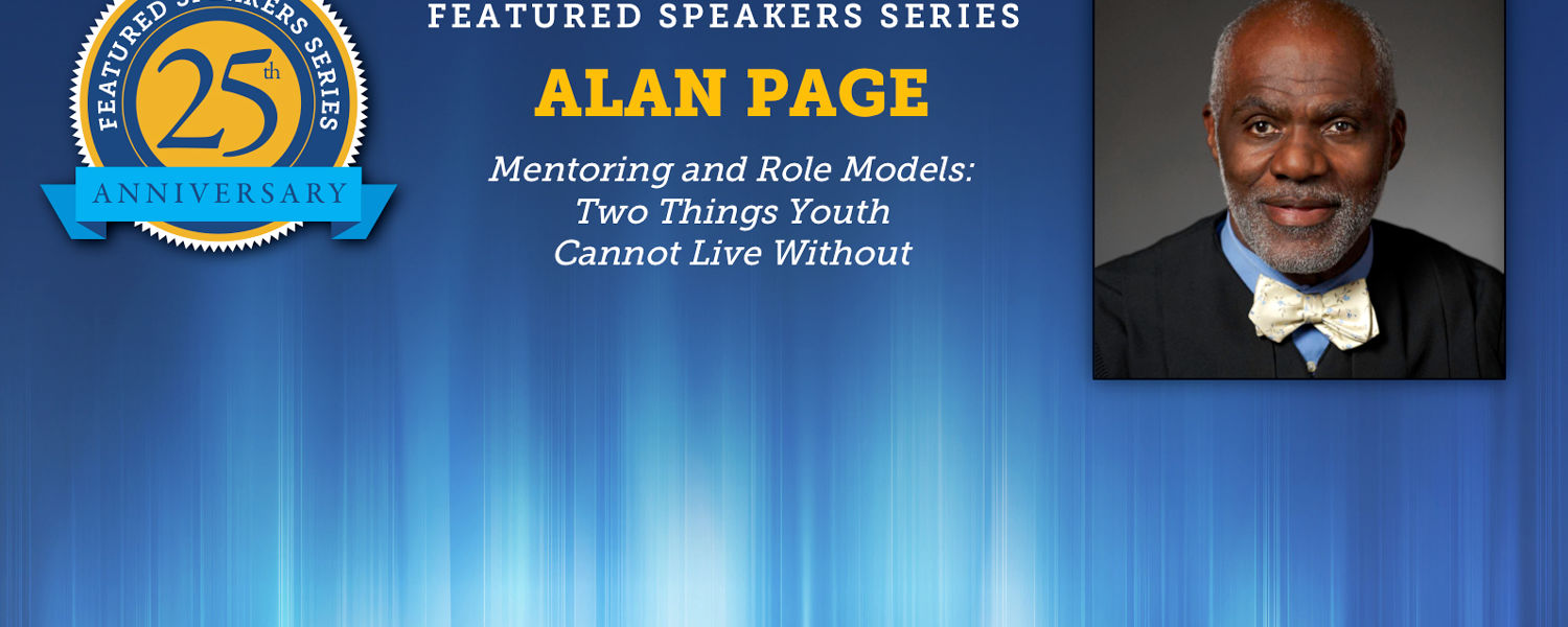 Featured Speaker Alan Page to Speak on February 25