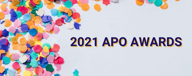 2021 Alpha Psi Omega Awards