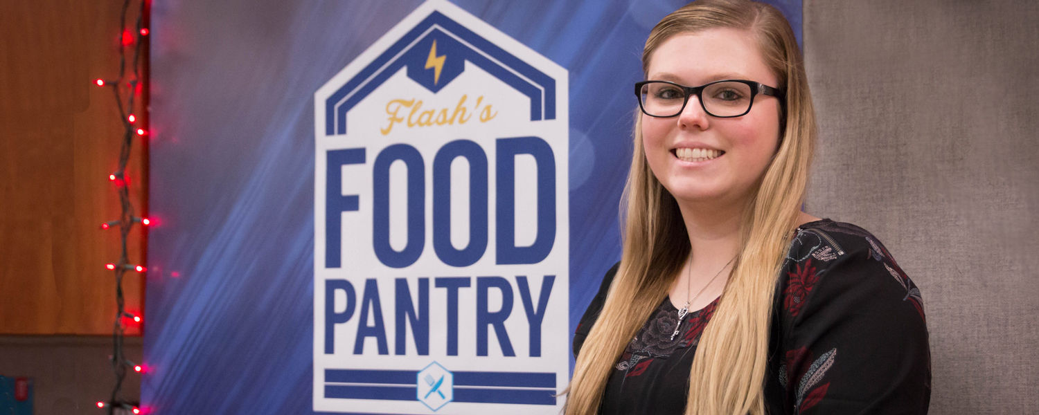 April Arbogast, one of the founders of Flash's Food Pantry, set to graduate from Kent State Stark.