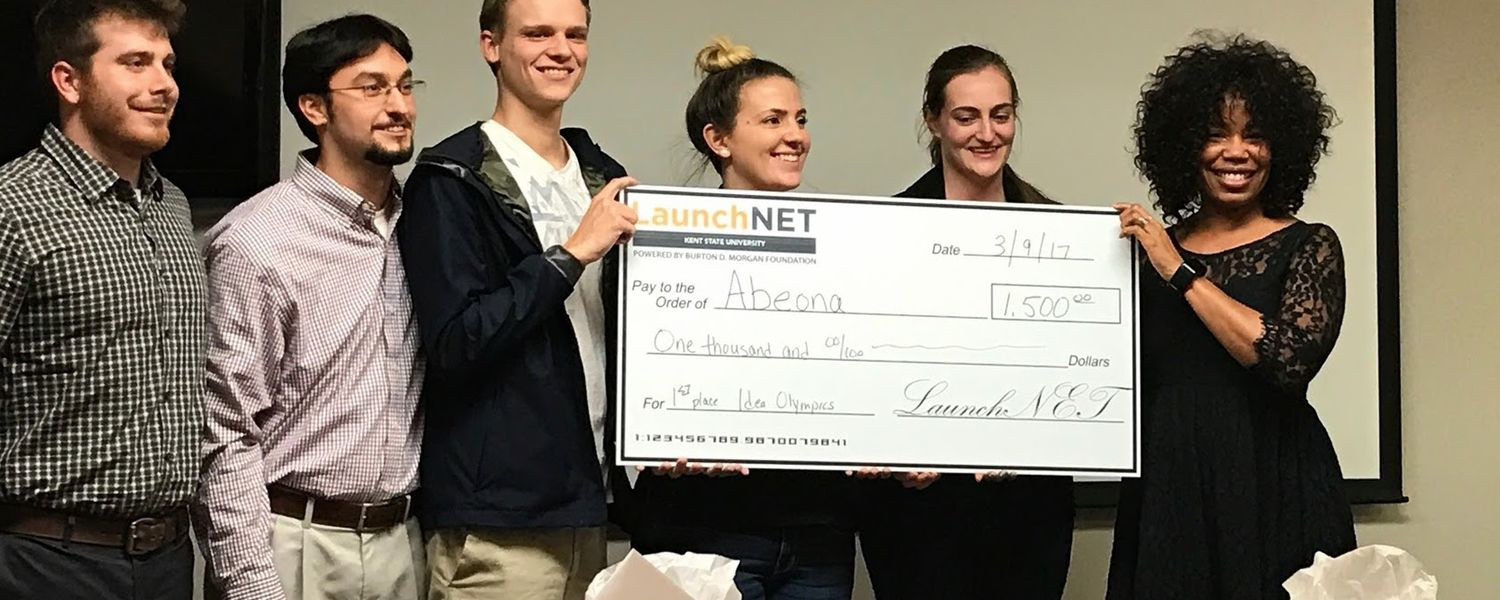 Fashion Tech team Abeona wins top honors at LaunchNET's Idea Olympics