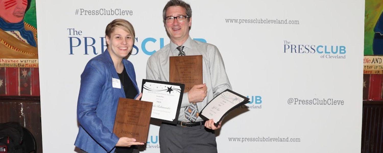 WKSU Wins 10 Ohio Excellence in Journalism Awards