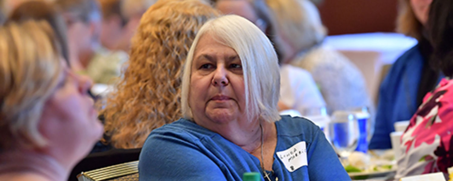 Office Support Staff Recognition Luncheon 2017- Linda