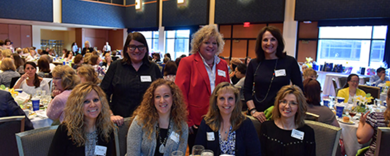 Office Support Staff Recognition Luncheon 2017- Diana, Mandy, Hollie, Melanie, Marcia, Cladia, Sandy