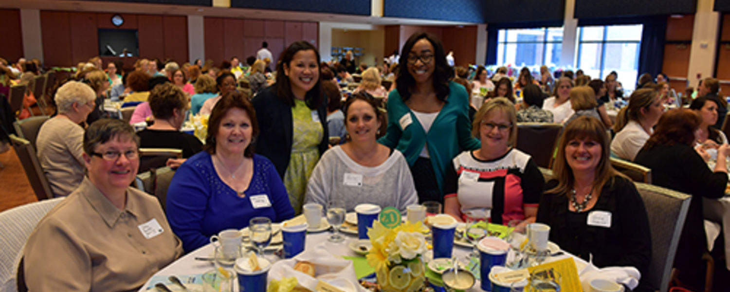 Office Support Staff Recognition Luncheon 2017- Cathie, Dixie, Angie, Heidi, Dominique, Ruth, Terrie