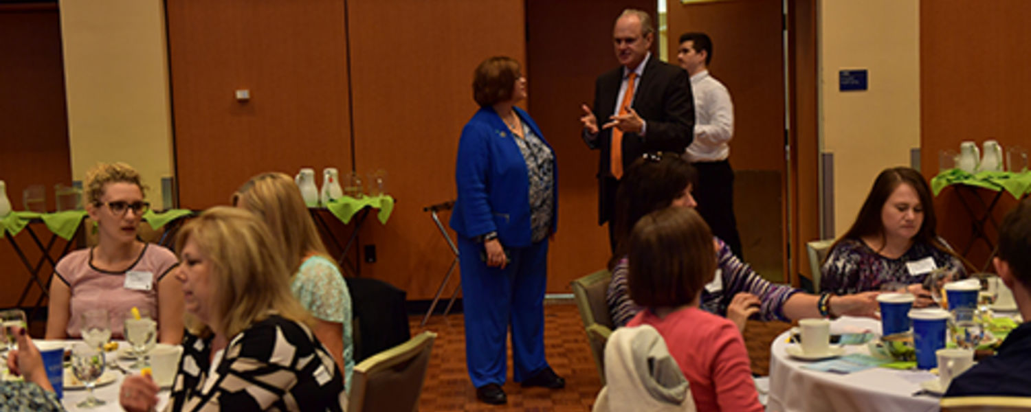 Office Support Staff Recognition Luncheon 2017- VP Little and Provost Diacon