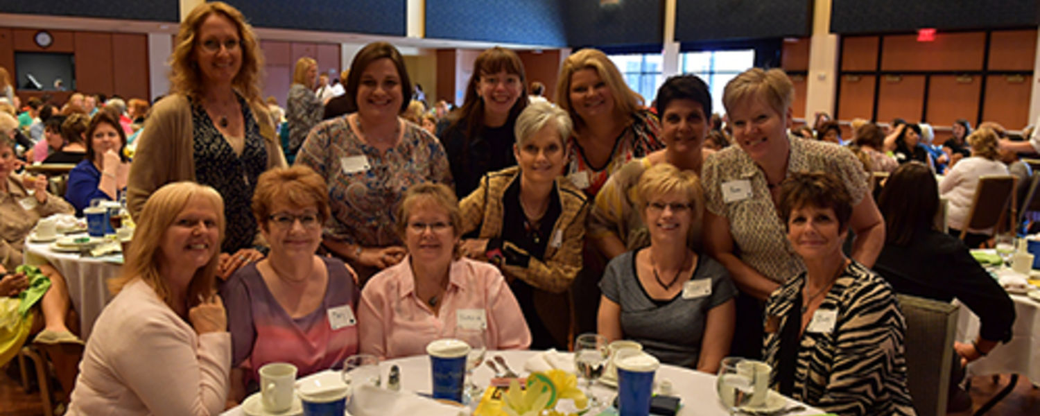 Office Support Staff Recognition Luncheon 2017- group of staff member