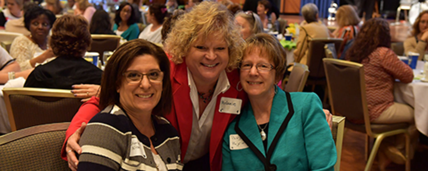 Office Support Staff Recognition Luncheon 2017- Char, Melanie, Patty
