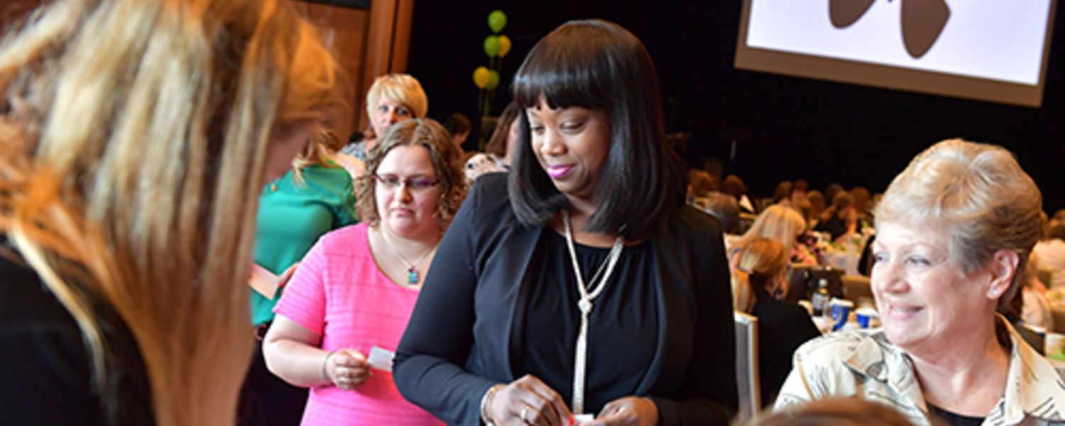 Office Support Staff Recognition Luncheon 2017- Donation prize table