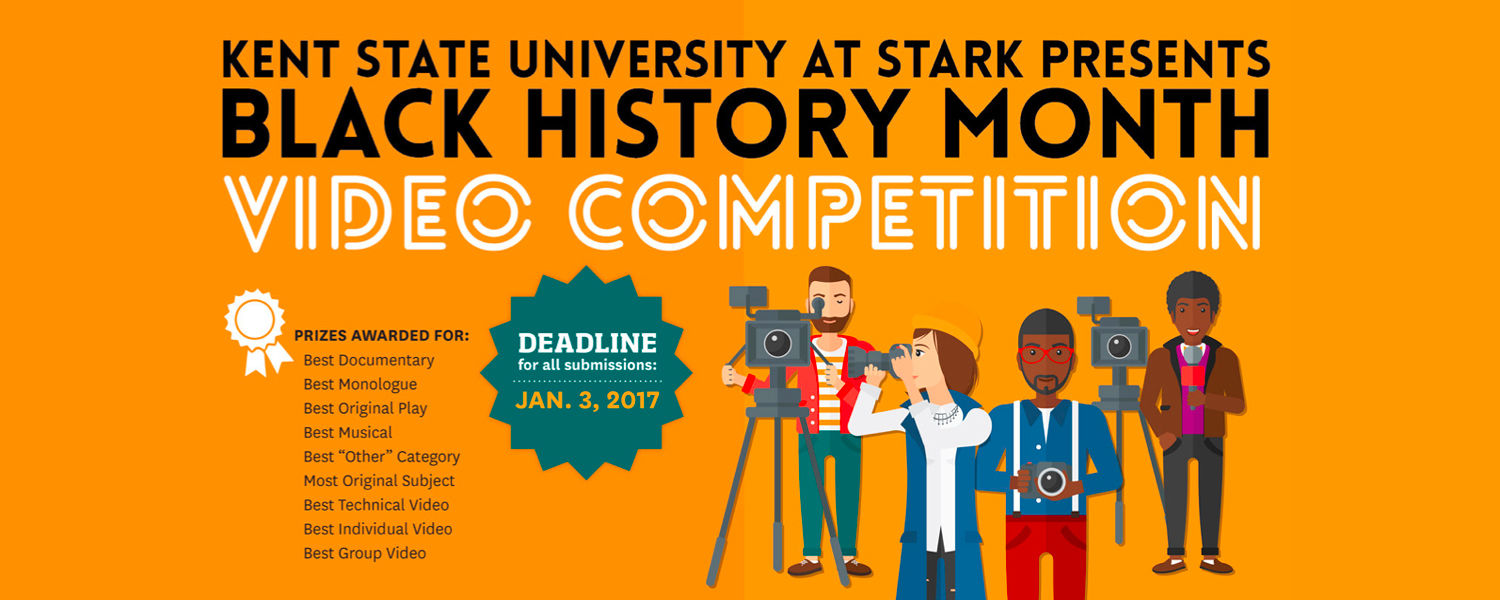 Black History Month Video Competition - Deadline is January 3