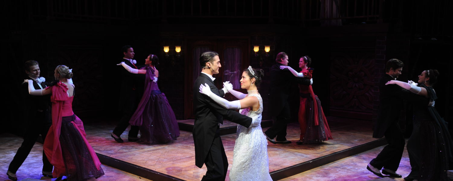 """A scene from 2014's production of """"My Fair Lady"""""""