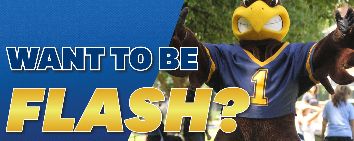 Ashtabula Flash Mascot Application Hero Image