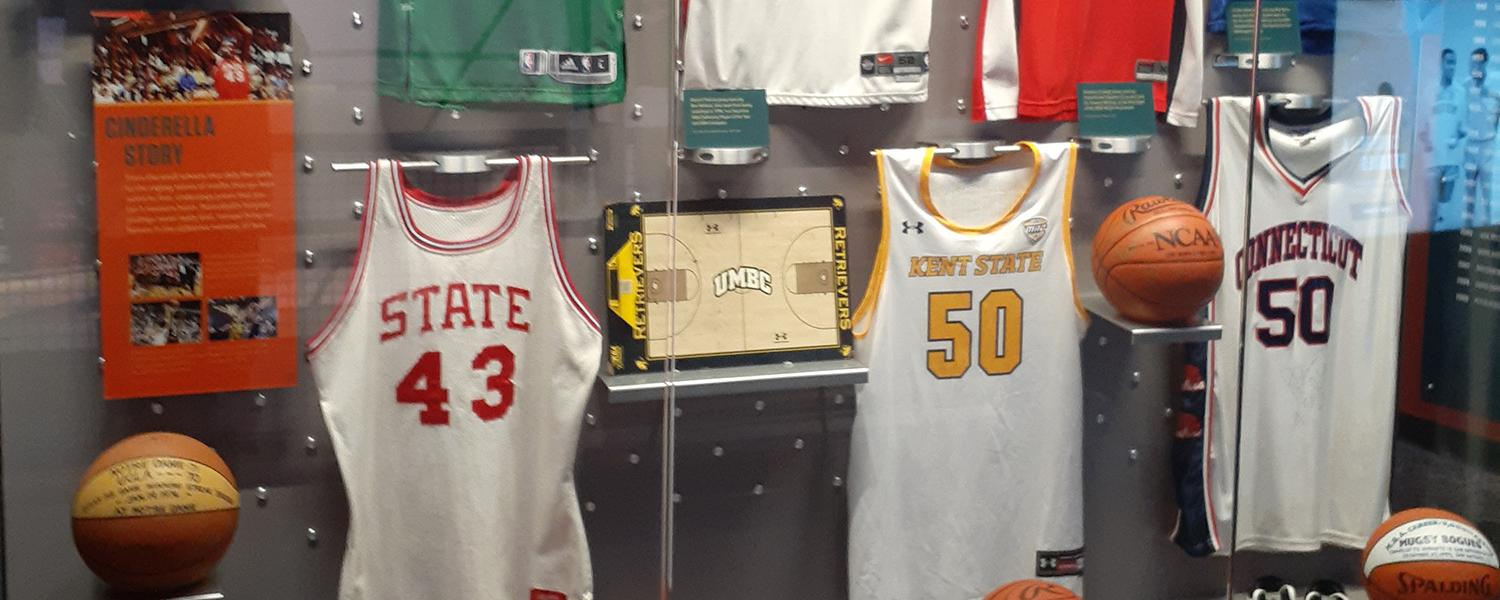 Kalin Bennett's Kent State Jersey on Display at Basketball Hall of Fame