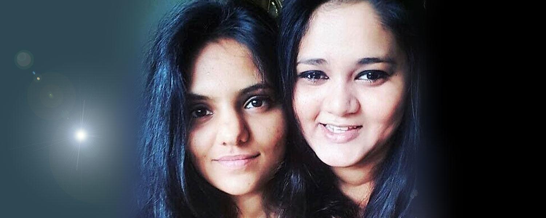 Shivani Patel and Saloni Parekh