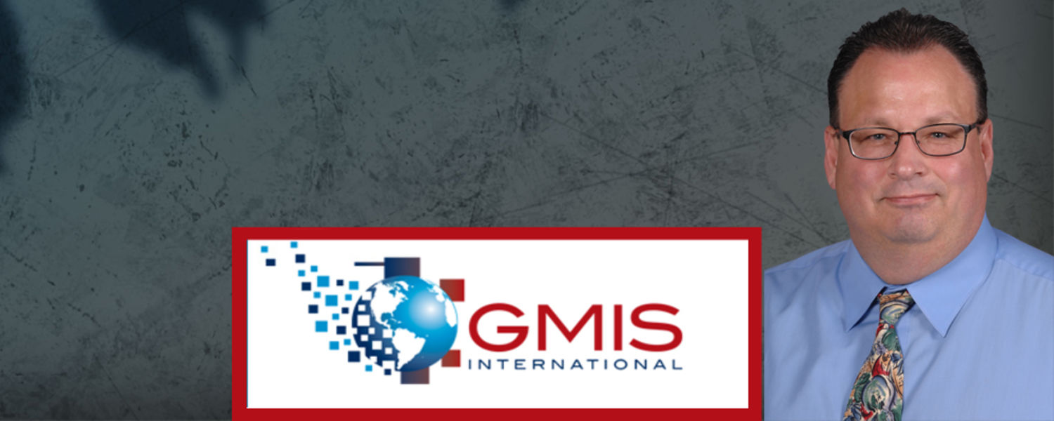 Image of Brian Kelley and GMIS Logo