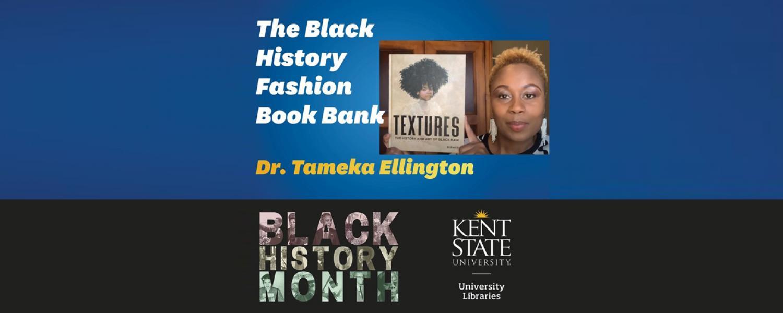 Black History Fashion Book Bank - Dr. Ellington