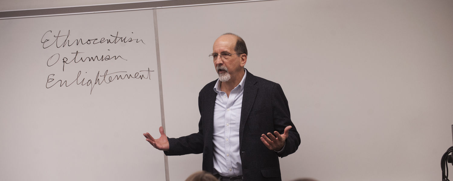 Mark Bracher is a professor of English in the College of Arts and Sciences. His research focuses on how literary studies can promote social justice and psychological development.