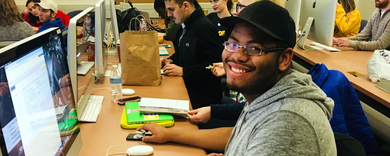 Journalism student Brandon Bounds is a 2018 News21 Fellow