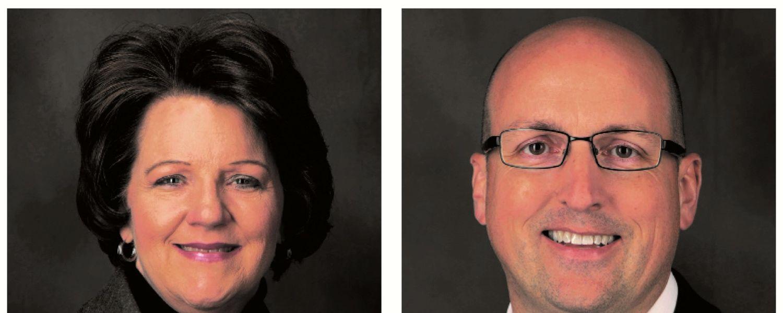 Brenda Burke and Sean Broghammer