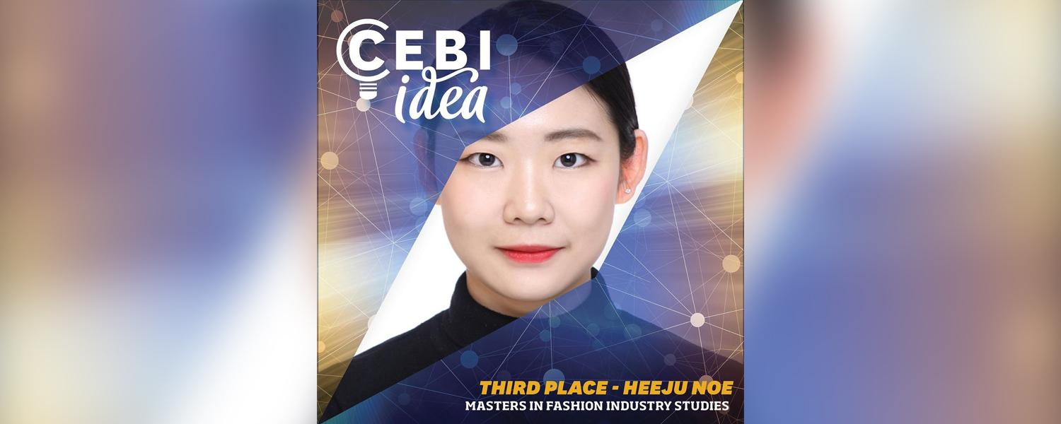 Third Place - Heeju Noe (Fashion Industry Studies Graduate Program)