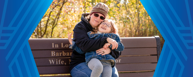 Cheyenne Clawson and her daughter Annabelle
