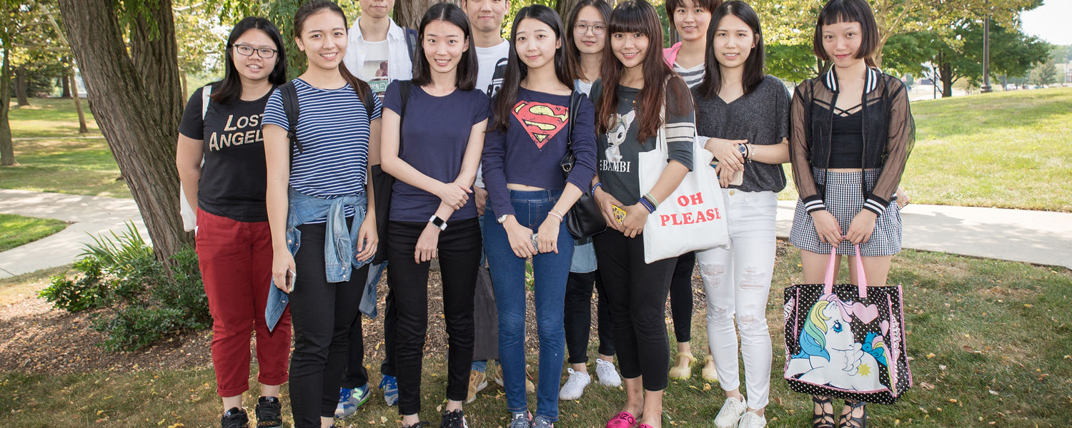 Kent State Stark hosts 11 students this fall from Shenzhen Polytechnic in China