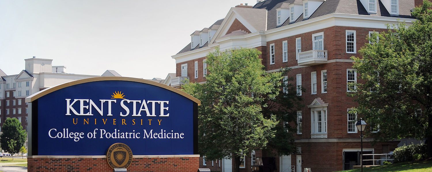 Kent State University's College of Podiatric Medicine