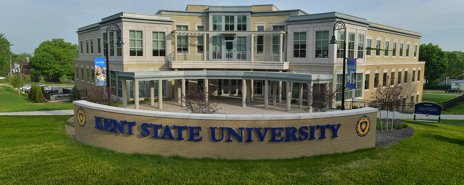 Kent State will celebrate the grand opening of its new Center for Philanthropy and Alumni Engagement on June 3. The event is free and open to the public.
