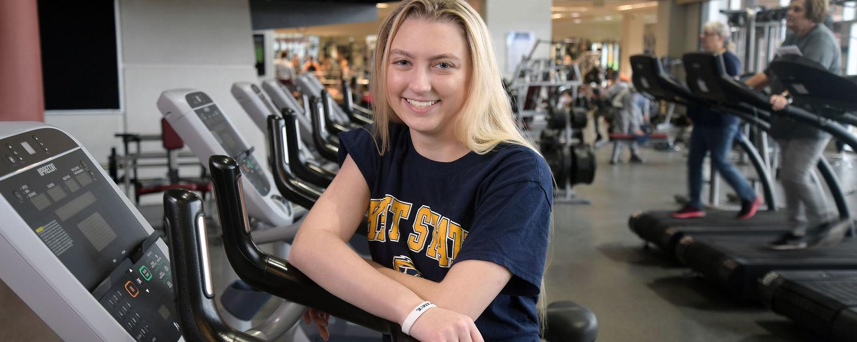 Athletic Training Major Cady Newman