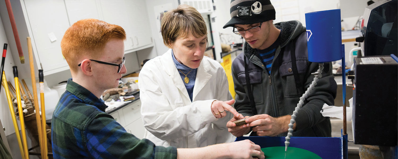 Carrie Schweitzer to lead new geology degree program