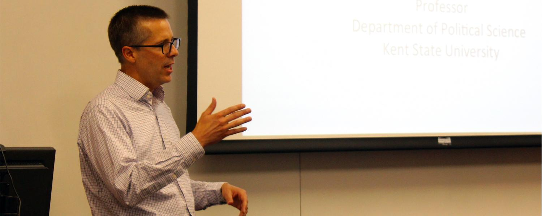 Ryan Claassen, Professor of Political Science in the Classroom