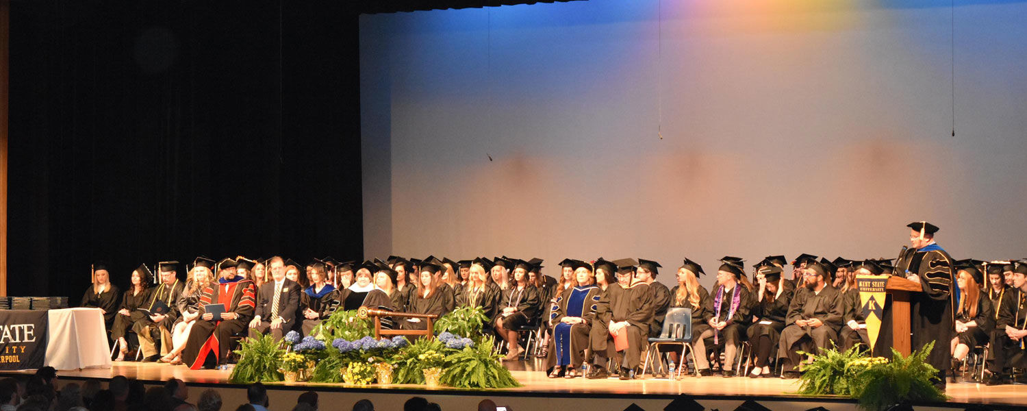 Kent State Columbiana County Campuses Commencement 2018