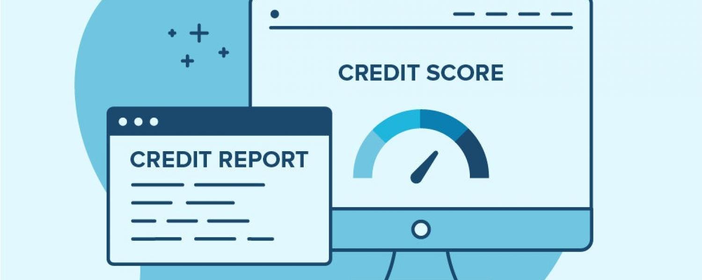 Credit report graphic