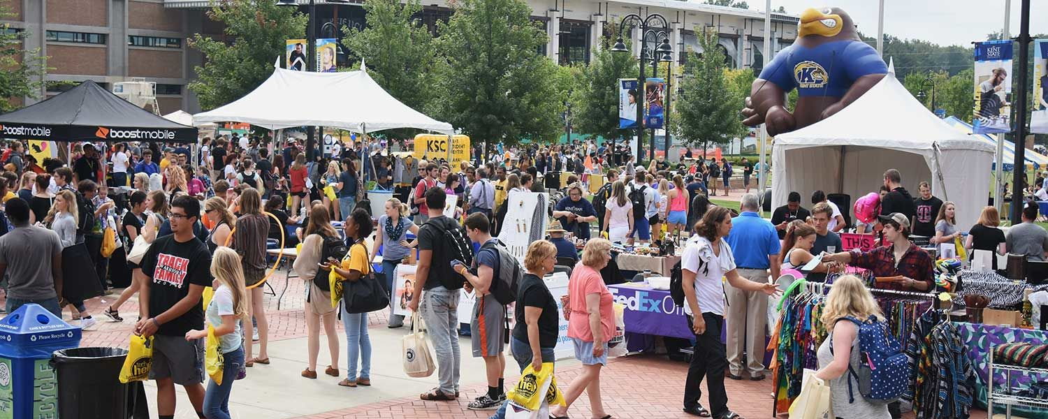 The annual Black Squirrel Festival offers Kent State students a chance to learn about student organizations, explore different university departments and learn more about the Kent community.