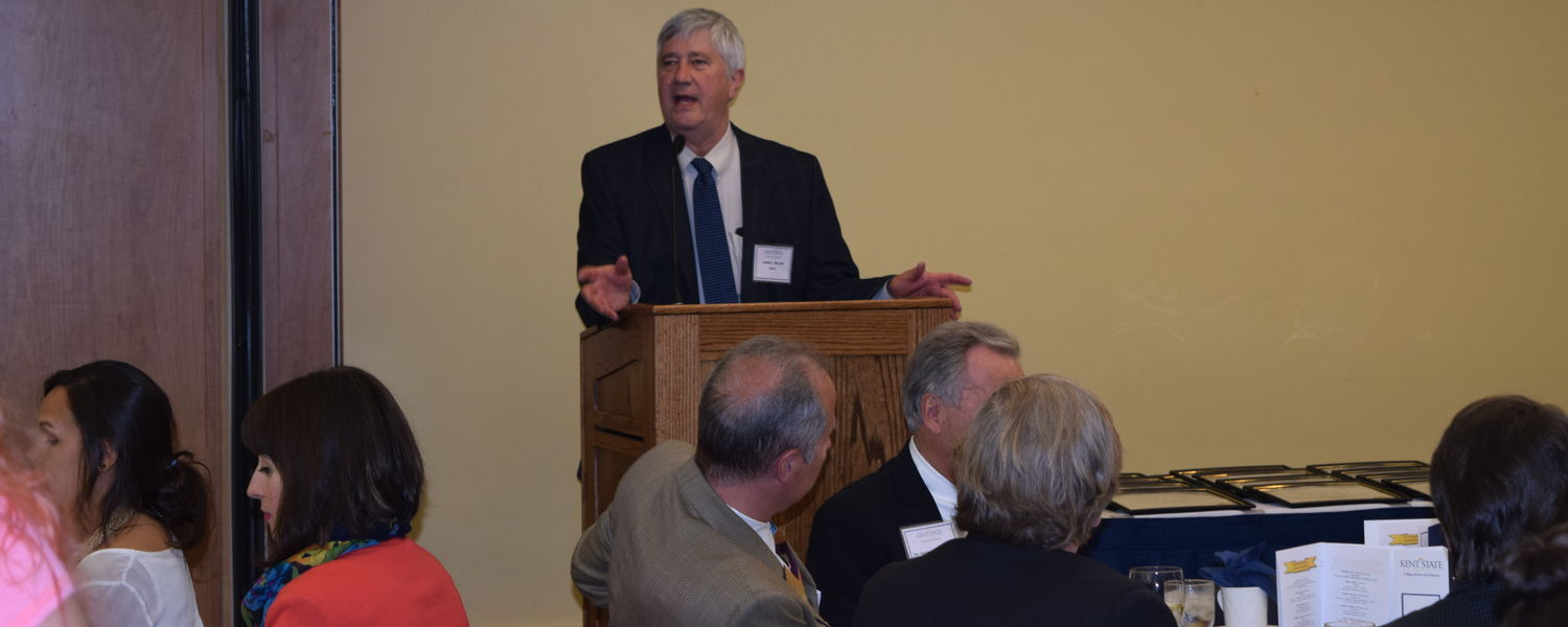 James Blank, Ph.D., dean of the College of Arts and Sciences