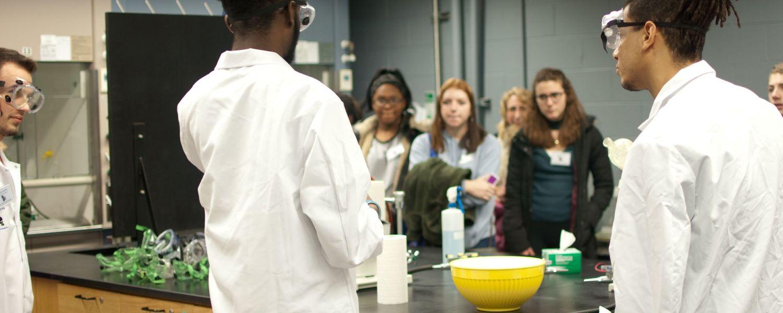 Lab Tour Explore Kent Chemistry Day