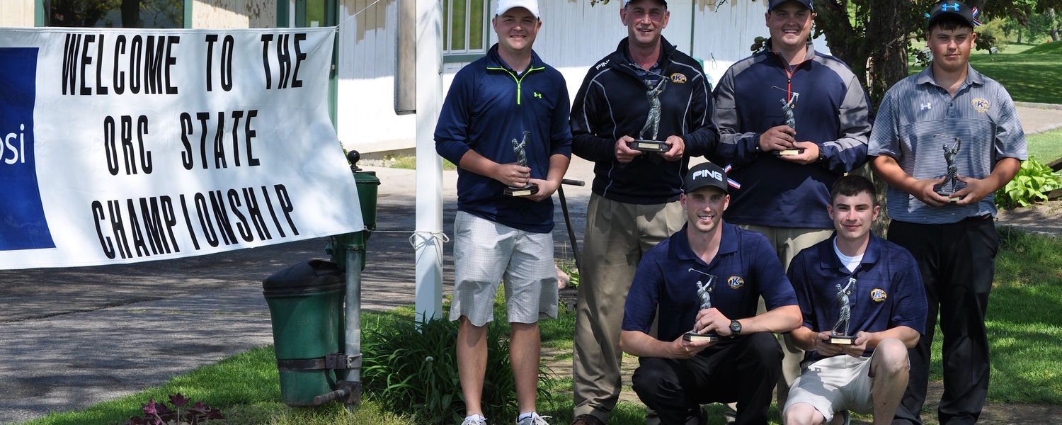 Golf Team State Champs