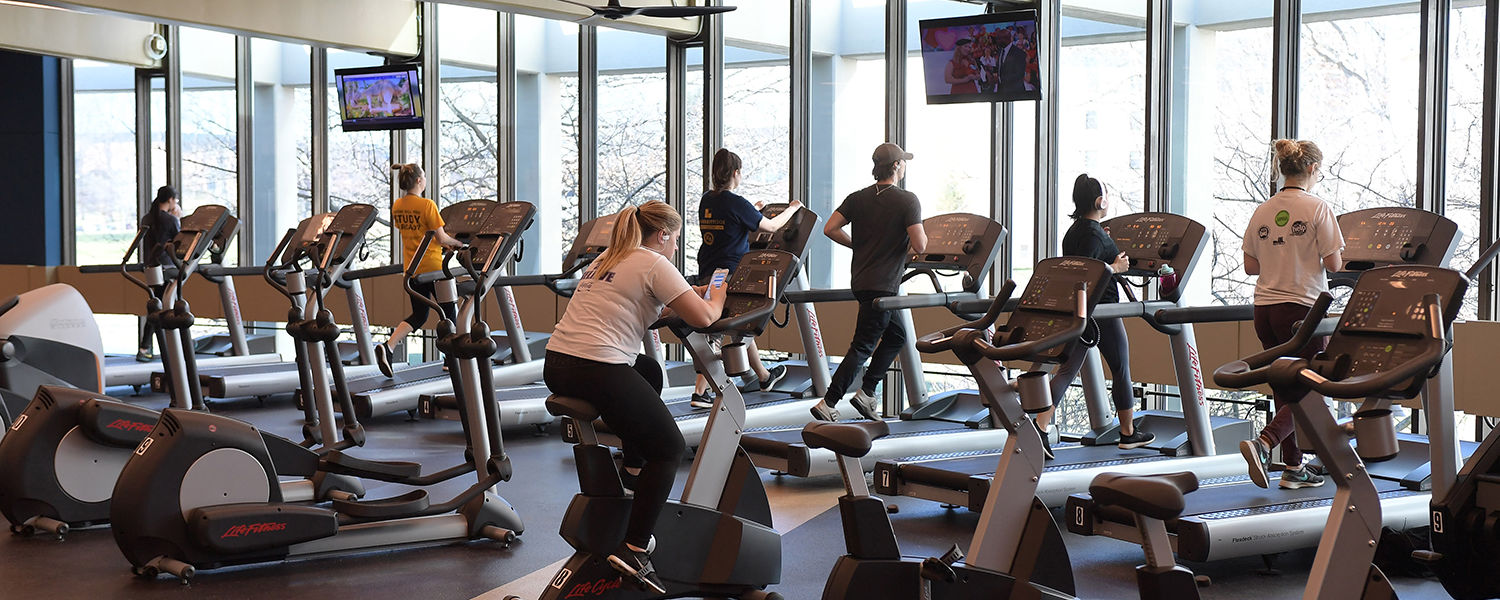 The new Tri-Rec is centrally located, providing a convenient workout location for on-campus residents.