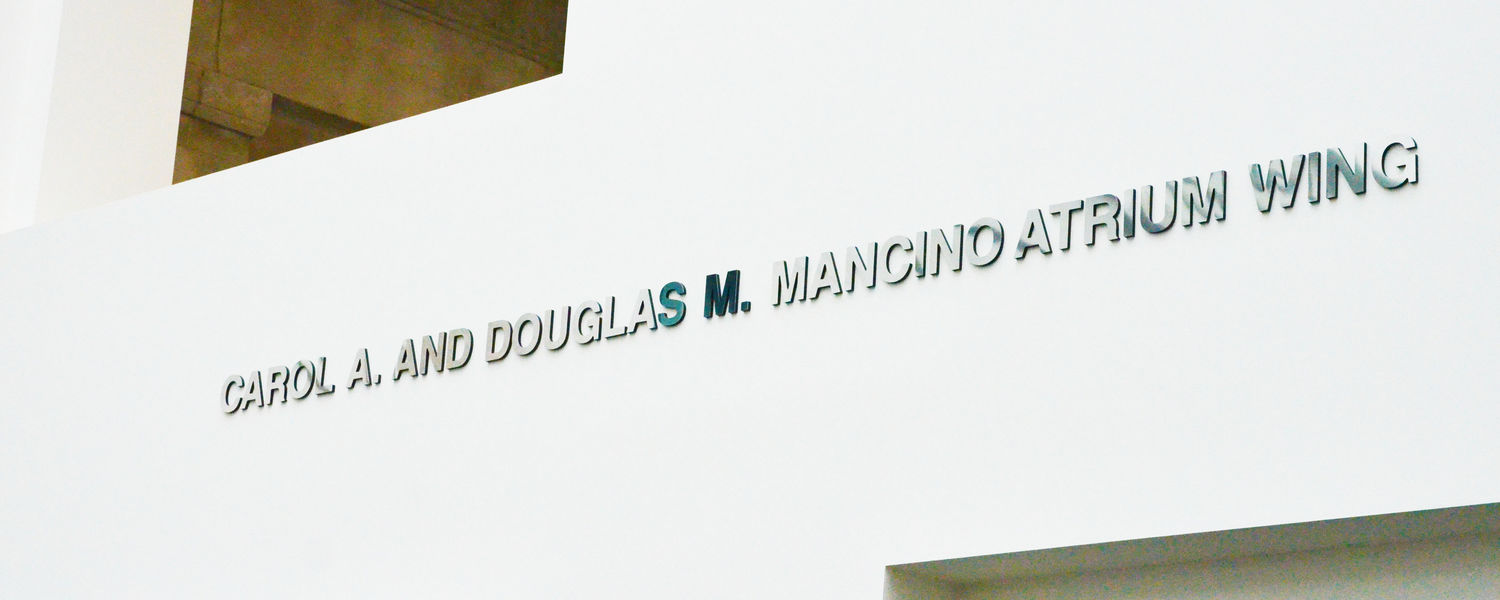 The Carol A. and Douglas M. Mancino Atrium Wing in Rockwell Hall