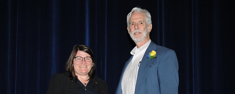 Robert Baer with Dr. Mandy Munro-Stasiuk