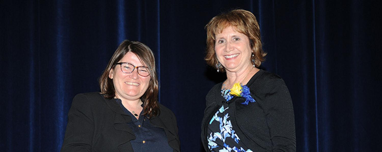 Jan Gibson with Dr. Mandy Munro-Stasiuk