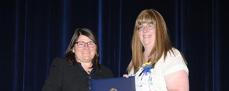 Kelly Shook with Dr. Mandy Munro-Stasiuk