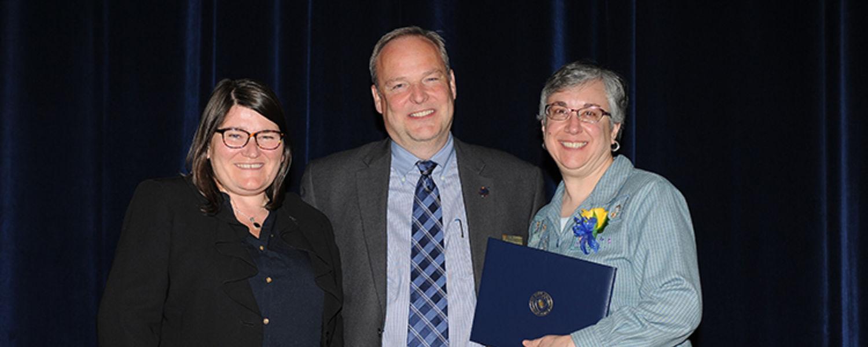 Donna Perzeski with Dr. Mandy Munro-Stasiuk & David Dixon
