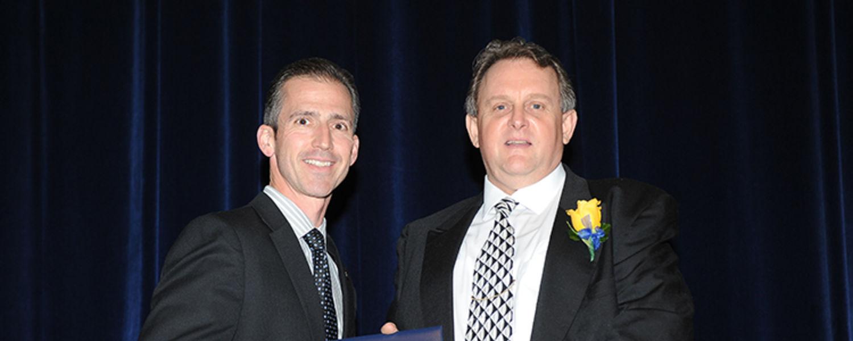 David Raso with Dr. Mark Polatajko