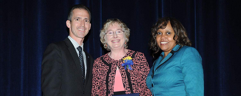 Mary LaLonde with Dr. Mark Polatajko & Loretta Shields