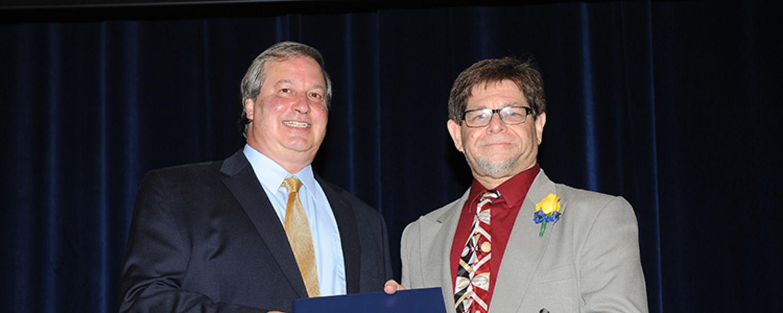 Scott Weitzenhoffer with Dr. Paul Albert