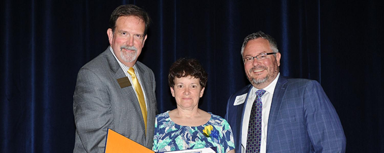 Mary Kay Hluch with Jeff McLain & Steve Sokany