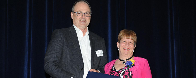 Judy Yasenosky with Tom Livingston
