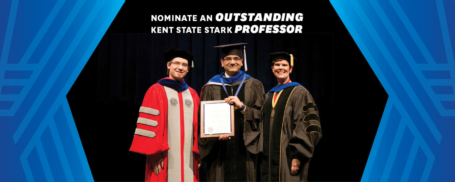 Distinguished Teaching Award and Award of Distinction at Kent State Stark