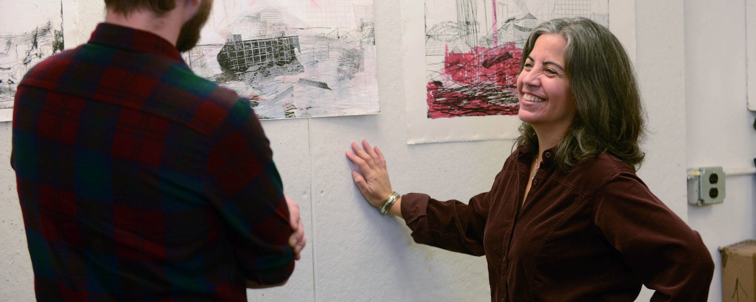 Darice Polo has been selected as Kent State University's Scholar of the Month. Polo is an associate  professor of drawing and painting and coordinator of the drawing program at Kent State's School of Art.