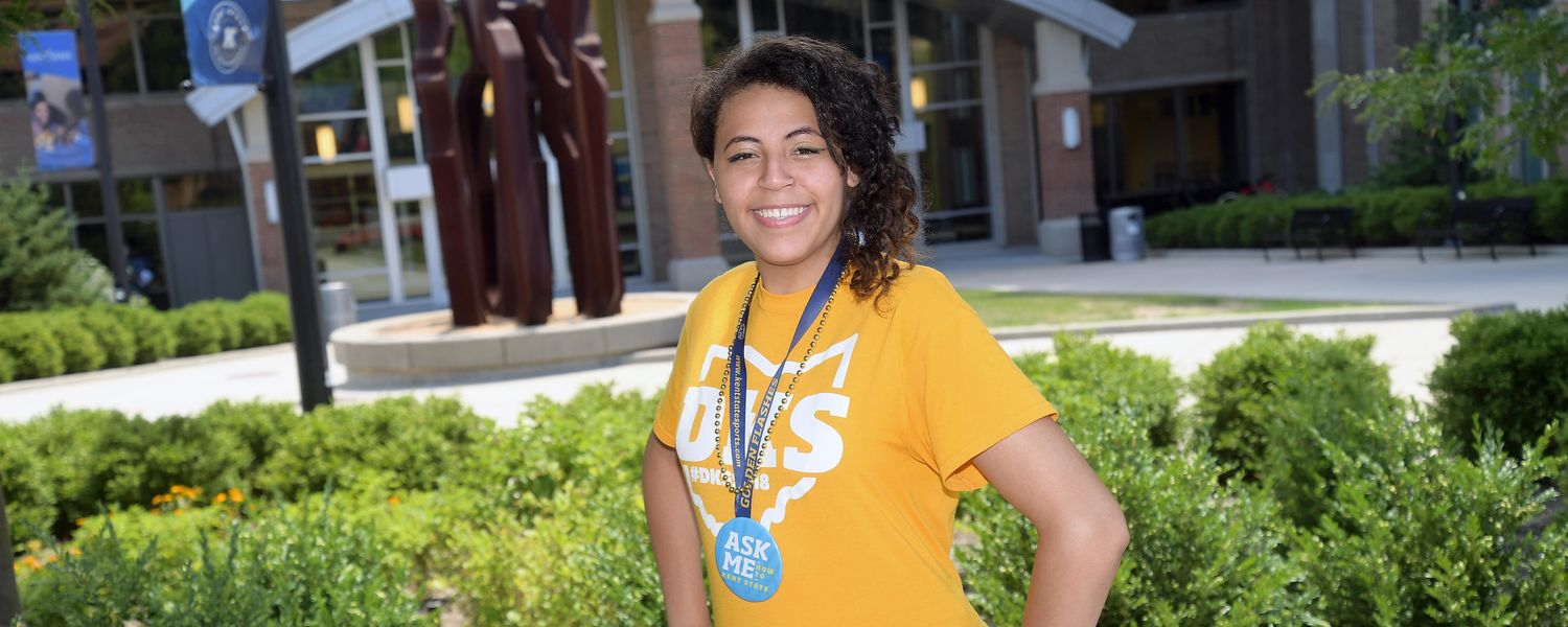 After all she has overcome, Diamond Lauderdale credits Kent State with helping her reach her dreams.